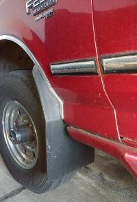 Ford Front Mud Flap with Heat Bend